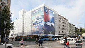 Mediamix Jättimedia Helsinki BMW