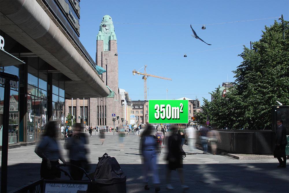 Mediamix 2019 Jättimedia RA teatteri 350m2