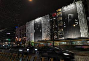 Mediamix Jättimedia Helsinki Wall 200 Samsung