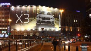 Mediamix jättimedia Wall 720 BMW