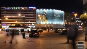 Mediamix jättimedia Helsinki Wall 720 Aalto