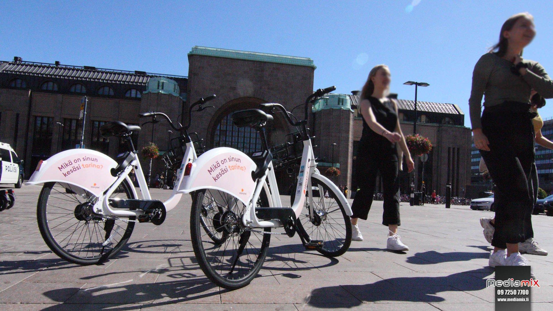 Mediamix Jurobike kaupunkipyörä Helsinki